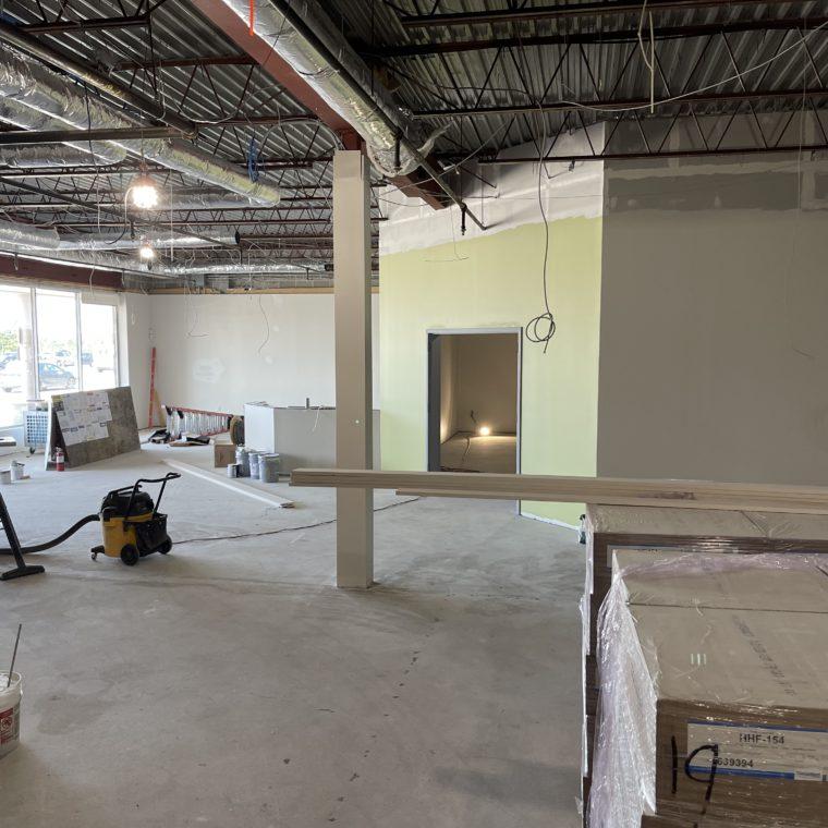 Durgin Center Construction update 8-27